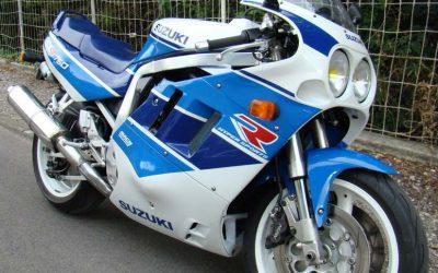 Suzuki 750 GSXR 1990 – 18.000 kms